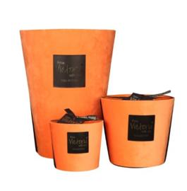 Orange velvet M