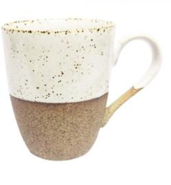 Koffiemok stoneware Sandy