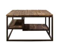 George oud houten salontafel