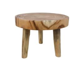 Salontafel mungur hout 45 cm