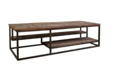 Matthew oud houten salontafel