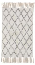 Berber look tapijttje 50 x 80 cm