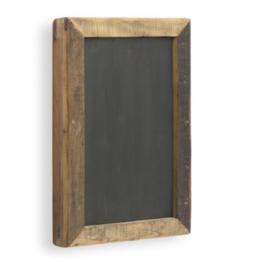 Krijtbord met houten frame 60x40 cm