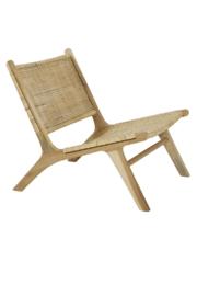 Subang teak - naturel fauteuil
