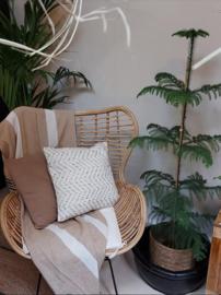 Natuurlijke fauteuil Juan
