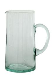 Waterkan gerecycleerd glas 1 liter