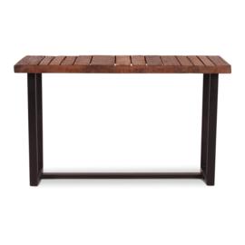Rustiek houten sidetable