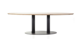 Olly ovale eiken tafel vanaf 240 cm