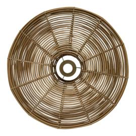 Rotan wandlamp 51 cm