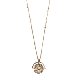 Lange ketting 'Coin Gold'