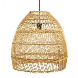Rotan lamp M 64 cm