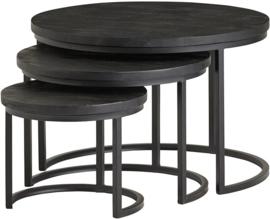 Pico set  zwarte salontafel