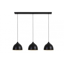 Hanglamp zwart / goud