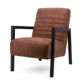 Lars fauteuil Cherokee cognac
