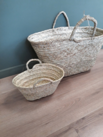 Grote zeegrasmanden / shopping bag