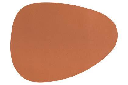 Placemat cognac 43x32 cm