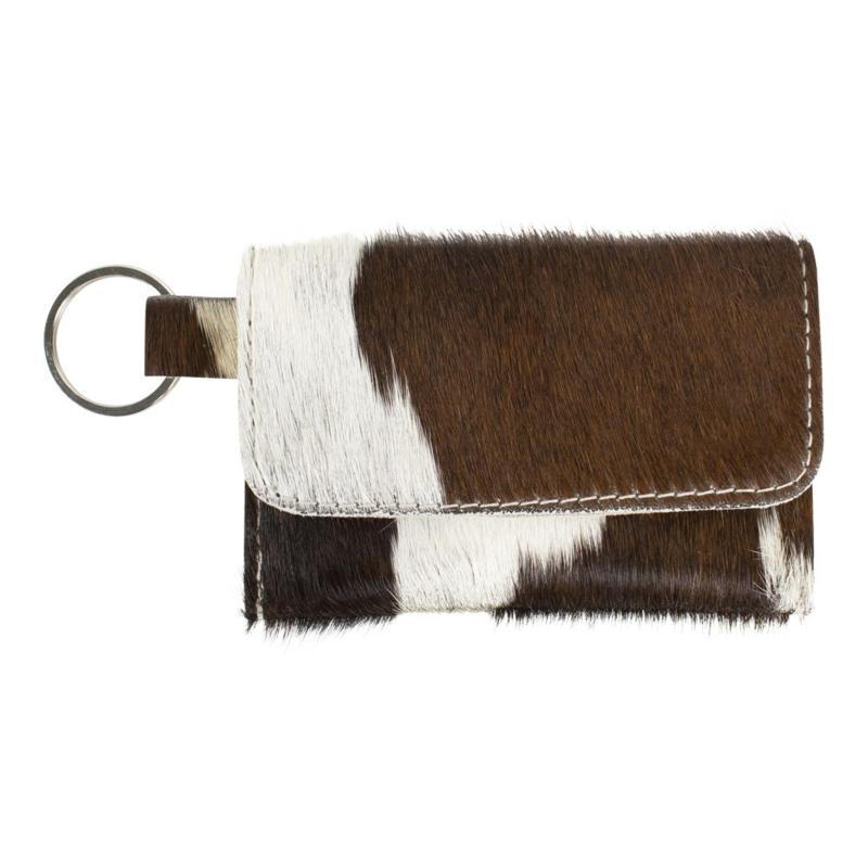 Sleutelhanger / kaartenzakje Natural brown