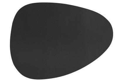 Placemat zwart 43x32 cm