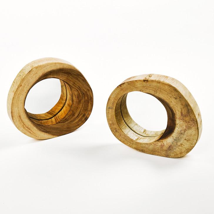 Houten spiegel 'Suar hout'