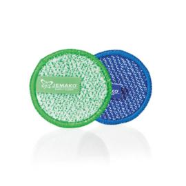 Jemako Duopad mini, groen + blauw