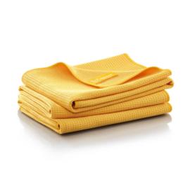 Jemako Droogdoek M 45x60cm, 3 pack, geel