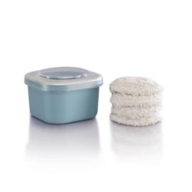 Jemako Make-up remover pads, 4 stuks