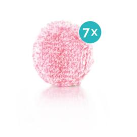 Jemako Make-up remover pads, pink