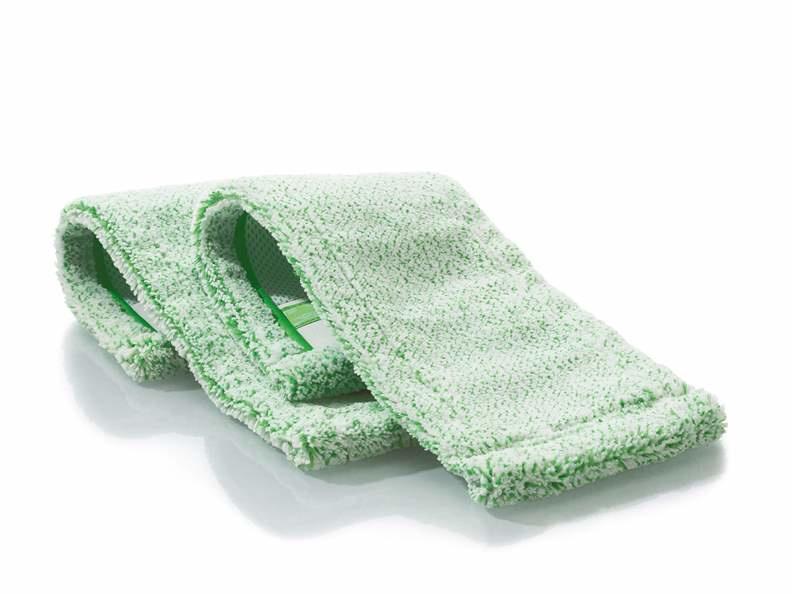 2 Jemako Dweilen, vloervezel groen laagpolig