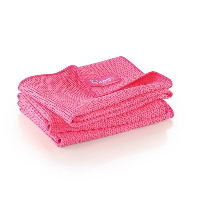 Jemako Droogdoek M 45x60cm, 3 pack, pink