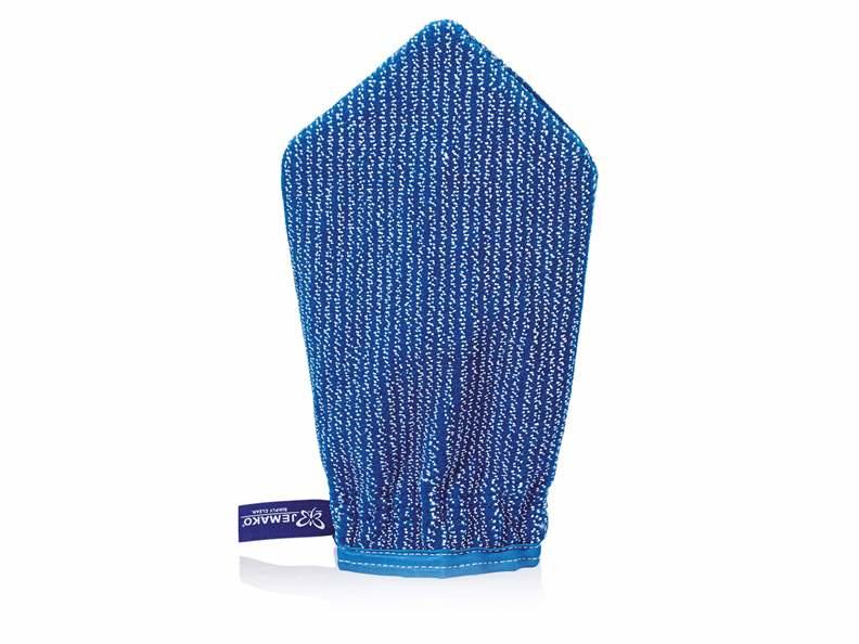 Jemako Reinigingshandschoen, blauwe vezel