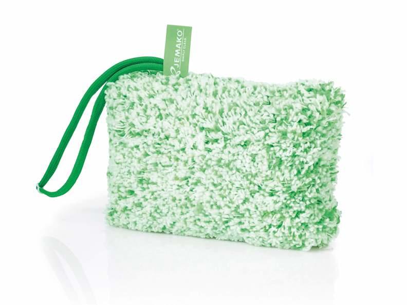 Jemako Reinigingsspons hoogpolig, groene vezel