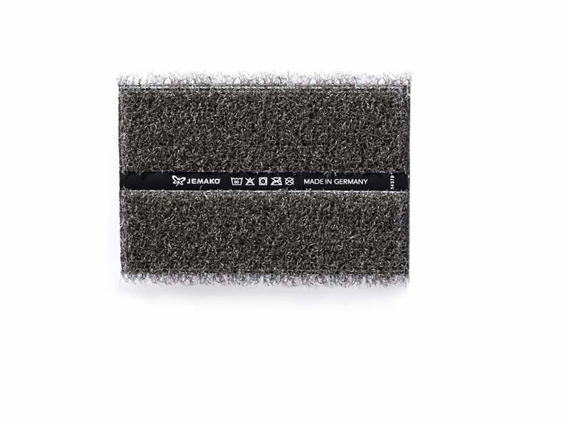 Jemako Duopad 12x8 cm, grijze vezel
