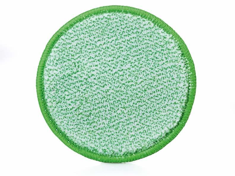 Jemako Duopad groene vezel, Ø 9,5 cm