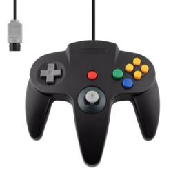 N64 Aftermarket Controller - Black