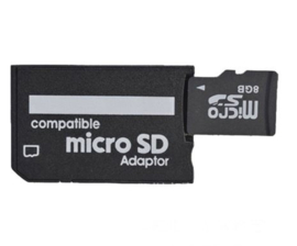 Memory Stick Pro Duo Micro SDHC Card Adapter