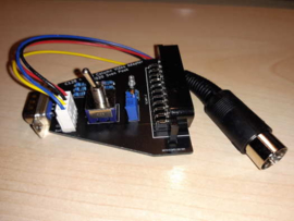 Commodore 128 40/80 column RGB Scart Adapter