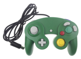 Gamecube Aftermarket Controller - Green