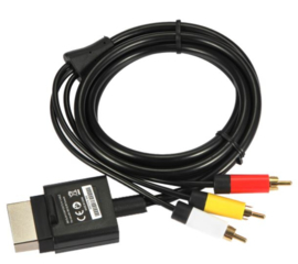 XBox 360 CVBS Composite Video kabel