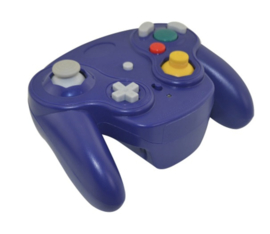 Gamecube Wireless 3rd Party Controller - Paars