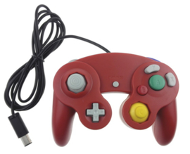 Gamecube Aftermarket Controller - Red