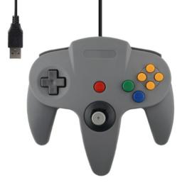 N64 USB Controller - Grau