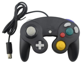 Gamecube 3rd Party Controller - Zwart