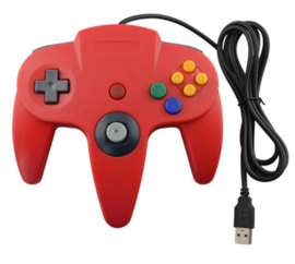 N64 USB Controller - Rood