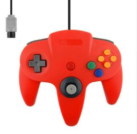 N64 Aftermarket Controller - Red