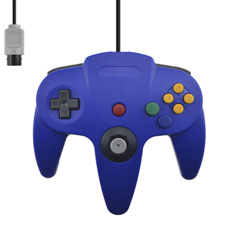 N64 3rd Party Controller - Blauw