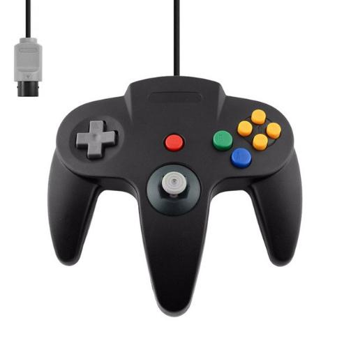 N64 3rd Party Controller - Zwart