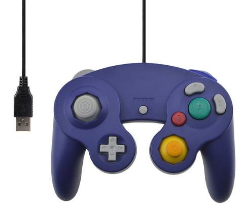 Gamecube USB Controller - Paars
