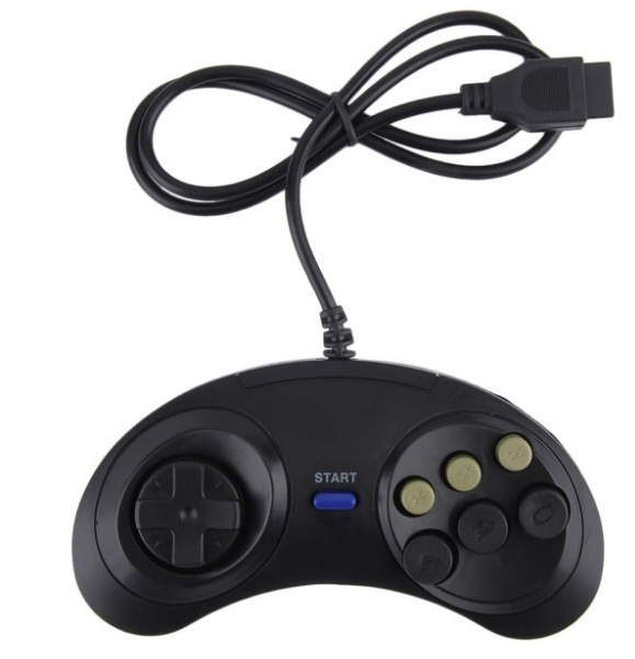 Master System / Megadrive 6-Button 3rd Party Controller