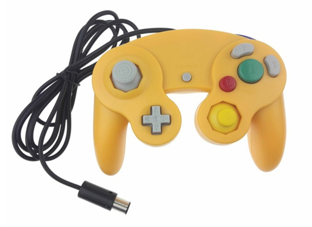 Gamecube 3rd Party Controller - Geel