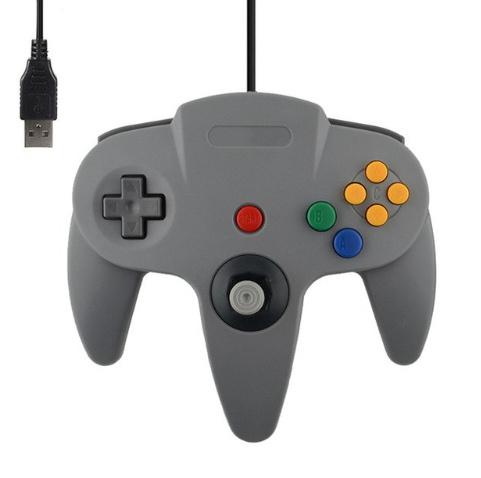 N64 USB Controller - Grijs